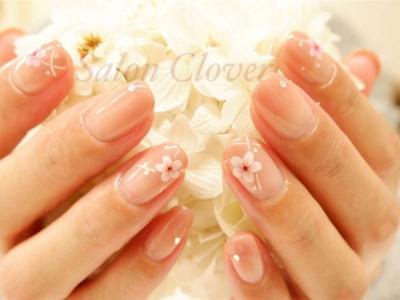 桜グラデーション♡春のオフィスネイル